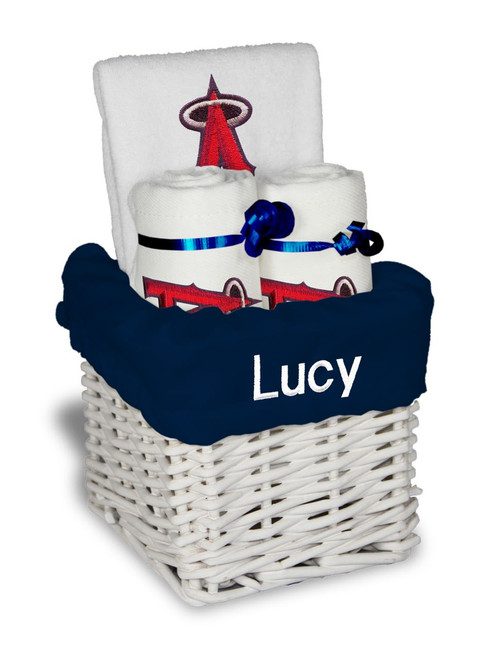 LA Angels Personalized 3-Piece Gift Basket