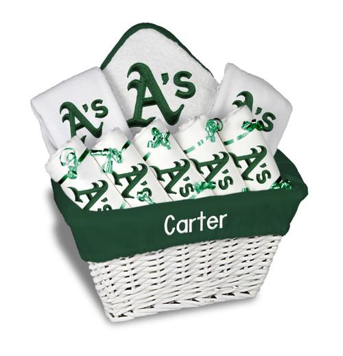 Oakland Athletics Personalized 9-Piece Gift Basket