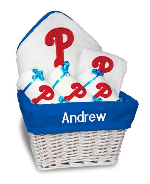 Philadelphia Phillies Personalized 6-Piece Gift Basket