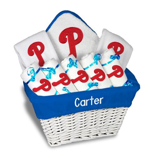 Philadelphia Phillies Personalized 9-Piece Gift Basket