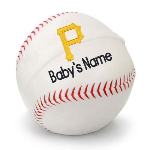 Pittsburgh Pirates Personalized Baseball Pillow