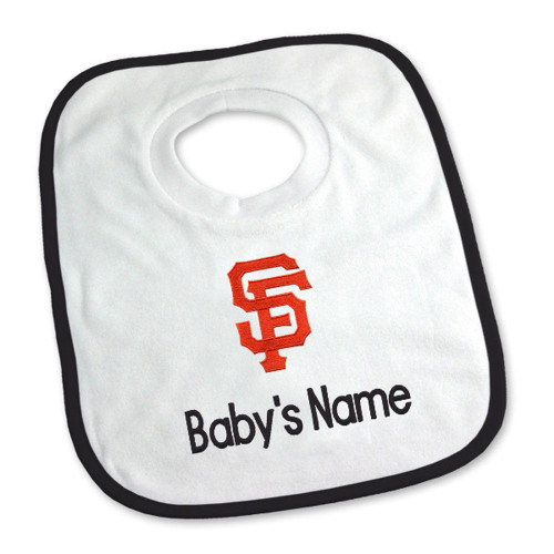 Seattle Mariners Personalized Pullover Baby Bib
