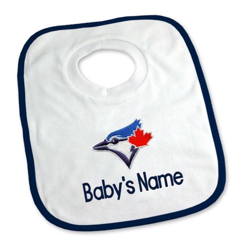 Toronto Blue Jays Personalized Pullover Baby Bib