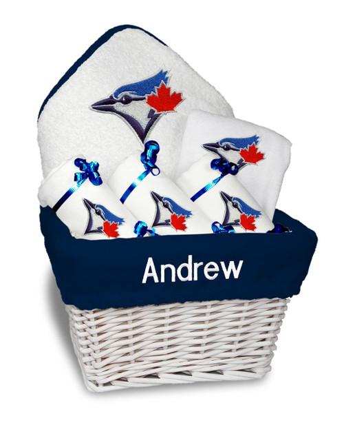 Toronto Blue Jays Personalized 6-Piece Gift Basket