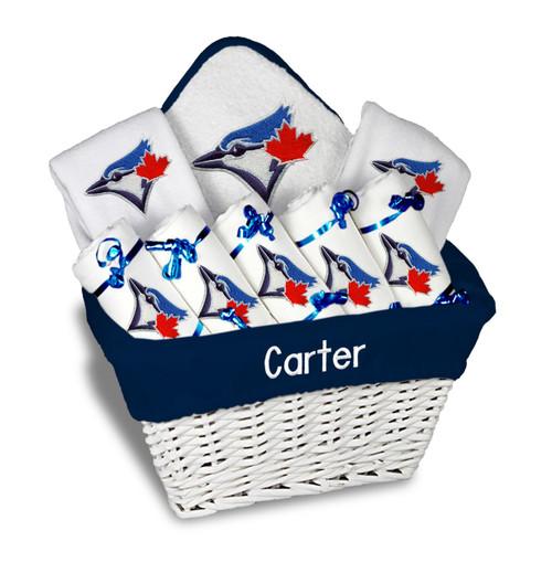 Toronto Blue Jays Personalized 9-Piece Gift Basket