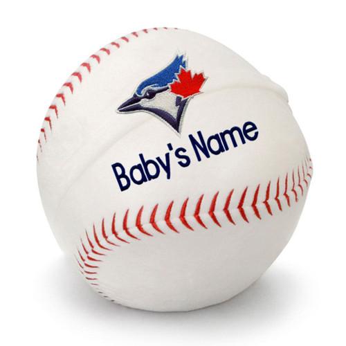 Toronto Blue Jays Personalized Baseball Pillow