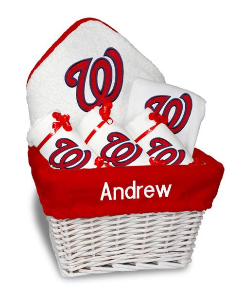 Washington Nationals Personalized 6-Piece Gift Basket