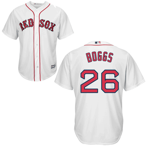 Wade Boggs Youth Jersey - Boston Red Sox Replica Kids Home Jersey