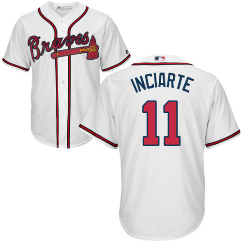 Ender Inciarte Jersey - Atlanta Braves Replica Adult Home Jersey