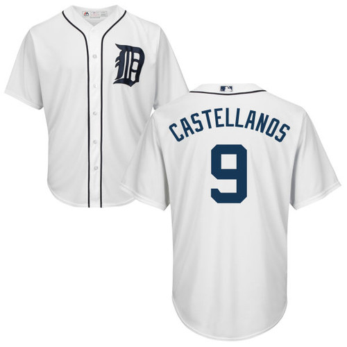 Nick Castellanos Youth Jersey - Detroit Tigers Replica Kids Home Jersey