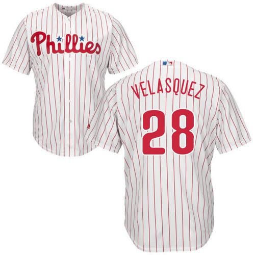Vincent Velasquez Jersey - Philadelphia Phillies Replica Adult Home Jersey