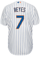 Jose Reyes Jersey - NY Mets Replica Adult Home Jersey