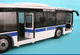MTA Articulated Bus - side