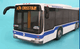MTA Articulated Bus - front