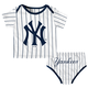 NY Yankees Baby Pinstripe 2-pc. Set