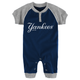 Yankees Navy & Gray Baby Onesie
