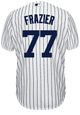 Clint Frazier Youth Jersey - NY Yankees Replica Kids Home Jersey