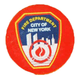 FDNY Red Lapel Pin with Card