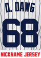 D. Dawg Youth Jersey - Dellin Betances Yankees Kids Nickname Home Jersey