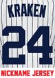 Kraken Jersey - Gary Sanchez Yankees Adult Nickname Home Jersey