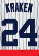 Kraken Youth Jersey - Gary Sanchez Yankees Kids Nickname Home Jersey