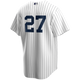 Giancarlo Stanton Youth No Name Jersey - NY Yankees Number Only Replica Kids Jersey