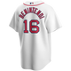 Andrew Benintendi Youth Jersey - Boston Red Sox Replica Kids Home Jersey - back
