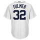 Michael Fulmer Jersey - Detroit Tigers Replica Adult Home Jersey - back