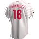 Cesar Hernandez Jersey - Philadelphia Phillies Replica Adult Home Jersey
