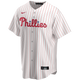 Rhys Hoskins Youth Jersey - Philadelphia Phillies Replica Kids Home Jersey - front