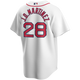 J.D. Martinez Youth Jersey - Boston Red Sox Replica Kids Home Jersey - back