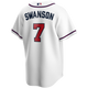 Dansby Swanson Youth Jersey - Atlanta Braves Replica Kids Home Jersey