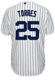 Gleyber Torres Jersey - NY Yankees Replica Adult Home Jersey