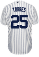 Gleyber Torres Youth Jersey - NY Yankees Replica Kids Home Jersey