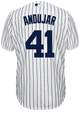 Miguel Andujar Jersey - NY Yankees Replica Adult Home Jersey