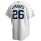 DJ Lemahieu Jersey - NY Yankees Replica Adult Home Jersey - back