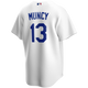 Max Muncy Jersey - LA Dodgers Replica Adult Home Jersey - back