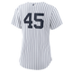 Gerrit Cole NY Yankees Replica Ladies No Name Home Jersey - Back