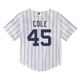 Gerrit Cole Toddler Jersey - NY Yankees Replica Toddler Home Jersey - back