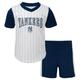 Yankees Baby Cooperstown Short Set