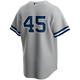Gerrit Cole Youth No Name Jersey - NY Yankees Kids Number Only Road Jersey