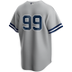 Aaron Judge No Name Road Jersey - NY Yankees Number Only Replica Jersey