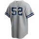 CC Sabathia No Name Youth Road Jersey - Number Only Replica by Nike