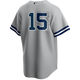 Thurman Munson Youth No Name Road Jersey