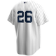 DJ Lemahieu No Name Jersey - NY Yankees Replica Number Only Adult Home Jersey