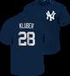 Yankees Corey Kluber Name and Number Mens Tee
