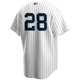 Corey Kluber No Name Youth Jersey - Number Only Kids Yankees Home Jersey