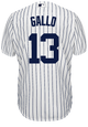 Joey Gallo Youth Jersey - NY Yankees Replica Kids Home Jersey - back