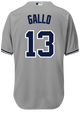 Joey Gallo Jersey - NY Yankees Replica Adult Road Jersey - back