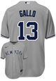 Joey Gallo Jersey - NY Yankees Replica Adult Road Jersey